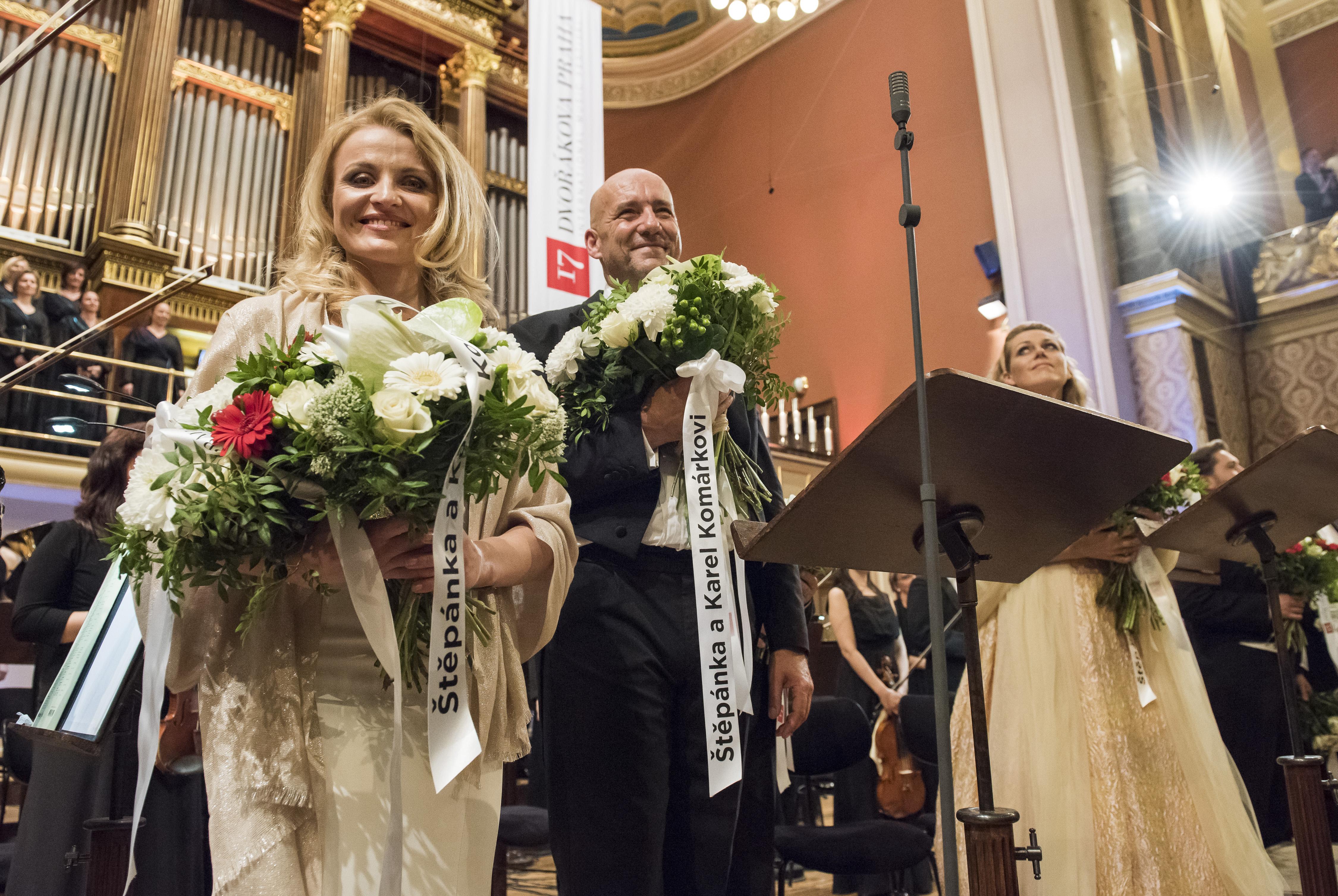 Jana Kurucová, Emmanuel Villaume a Kristine Opolais